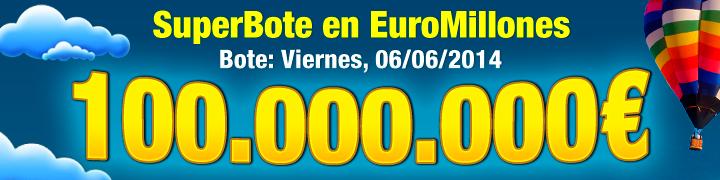 100 millones de euromillones