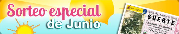 Sorteo Especial Junio Loteria Nacional
