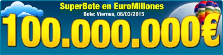 Euromillones 100 millones